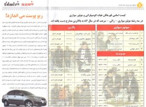 Khorasan Newspaper 2007-06-05
