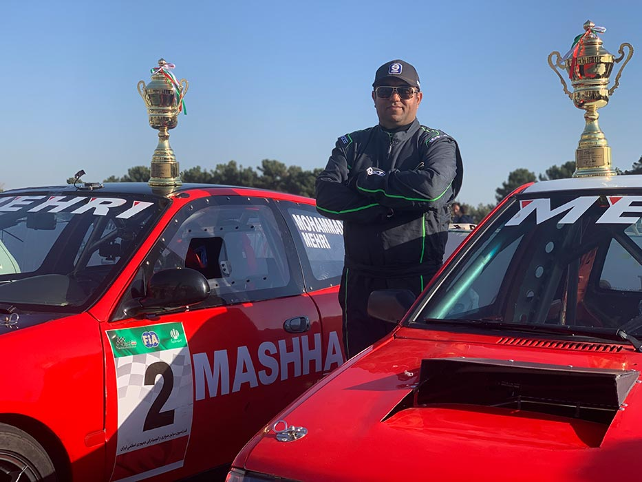 Mohammad Mehri Double Champion